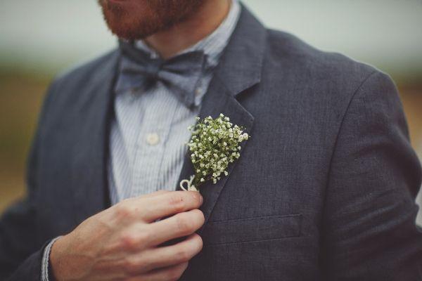 A Creative Buttonhole, Vintage Wedding in Canada