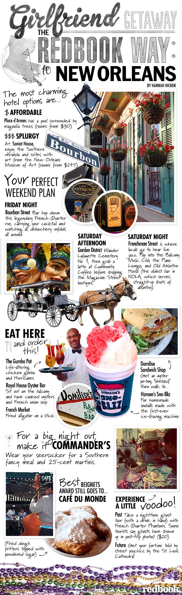 GOING IN SEPTEMBER!!!!New Orleans Travel Guide - What To Do, See, Eat, and Drink in NOLA - Redbook