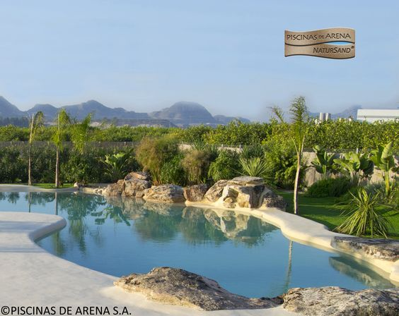 33 best piscinas de arena en espa a images on pinterest - Piscinas de arena natursand ...