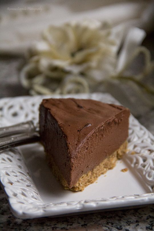 torta-mousse cioccolato e arancia