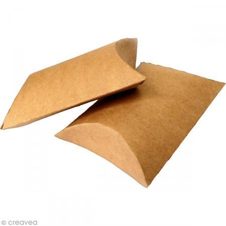 Caja de regalo berlingot 7,7 x 12,3 cm -  - 6 embalajes - Fotografía n°3