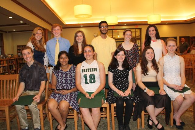 PLEASANTVILLE, N.Y. -- Fourteen Pleasantville High School students were inducted into the Rho Kappa National Social Studies Honor Society at a ceremony held the evening of April 18 in the school's library mediacenter.The new members are...