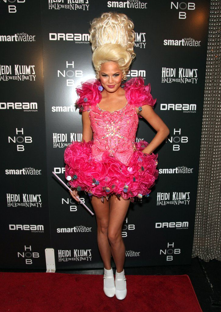 90 cute crazy and creepy celebrity halloween costumes - Pageant Girl Halloween Costume