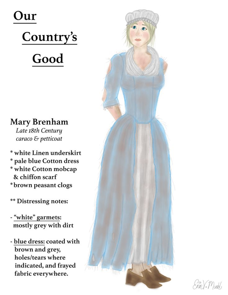 Our Country's Good -- Mary Brenham (digital) by LaRenaissanceGirl on DeviantArt