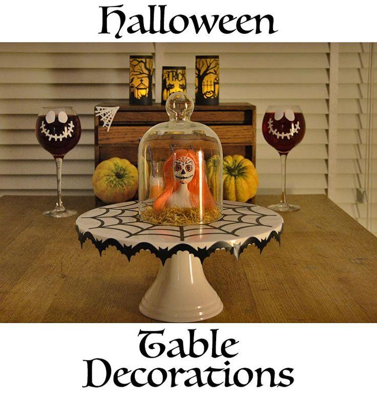 halloween diy table decorations