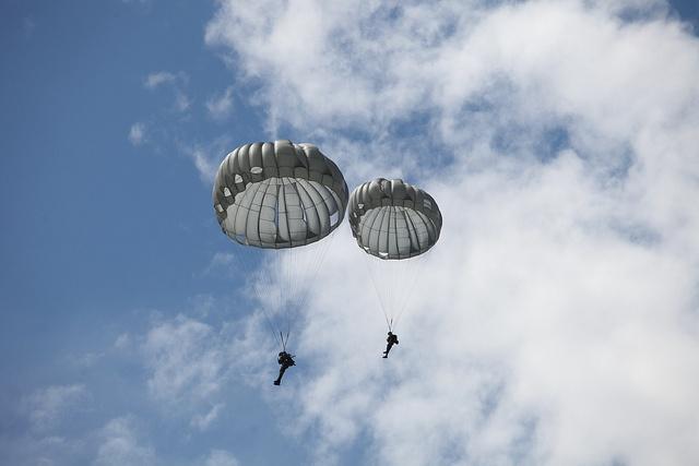 Primer Curso de Paracaidistas Jungla de nuestra Policía Nacional.