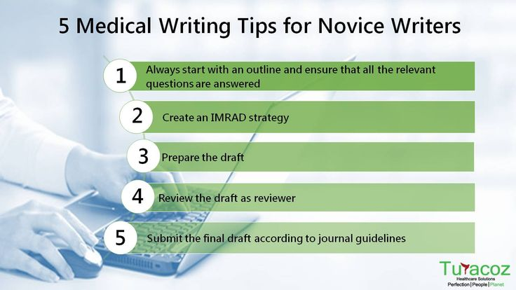 #TuracozHealthcareSolutions shares the 5 #Tips on #MedicalWriting for #NoviceWriters.