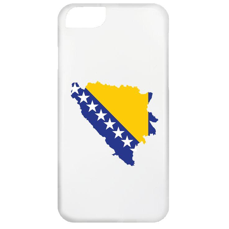Bosnia flag -01 iPhone 6 Case
