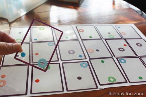 Swish Game For Visual Perception