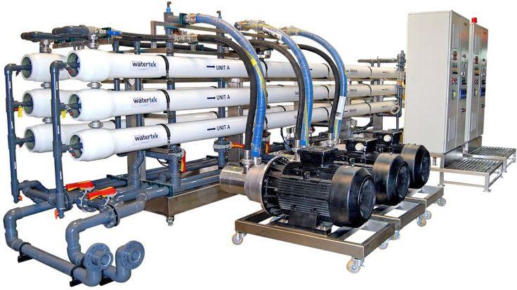 Advanced Watertek reverse osmosis system for sea water. For more information visit http://advancedwatertek.com