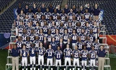 Super Bowl XXXVIII Champions (2003)  New England Patriots