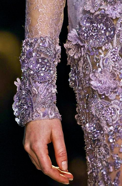 Elie Saab Couture (detail) S/S 2013