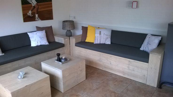 Een lekkere Loungebank gemaakt