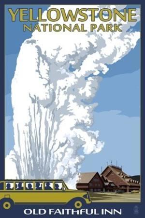 Yellowstone poster.