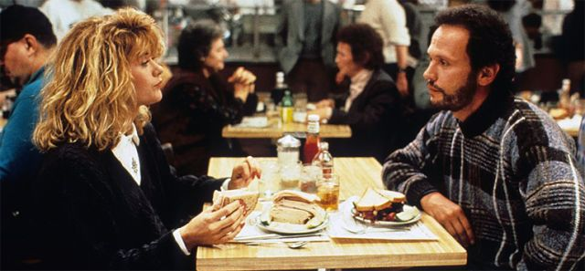 """When Harry met Sally (1989) - """"I came here tonight because when you realize you want to spend the rest of your life with somebody, you want the rest of your life to start as soon as possible."""" #WhenHarrymetSally #HarrytipresentoSally #quote #Iloveyou #couple"""