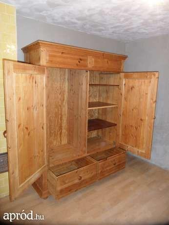 fenyő ruhás szekrény Bélapátfalva - 49.000