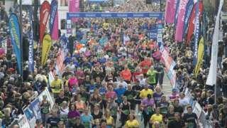 Measuring tape out for Great Scottish Run half-marathon