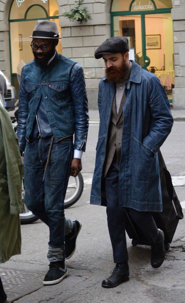 Long denim jackets