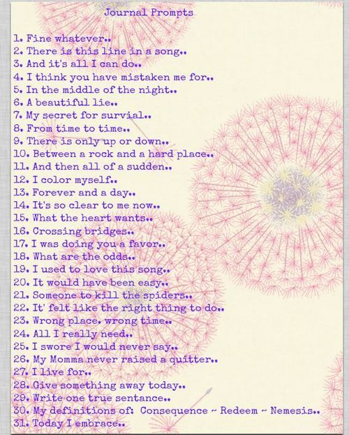 365 creative writing prompts journal writing prompts