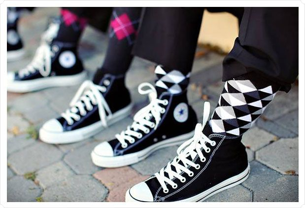 rock n roll  wedding tuxedos | Yes. Converse mother-f'ing CHUCK TAYLOR'S!!!! Why? Two reasons.