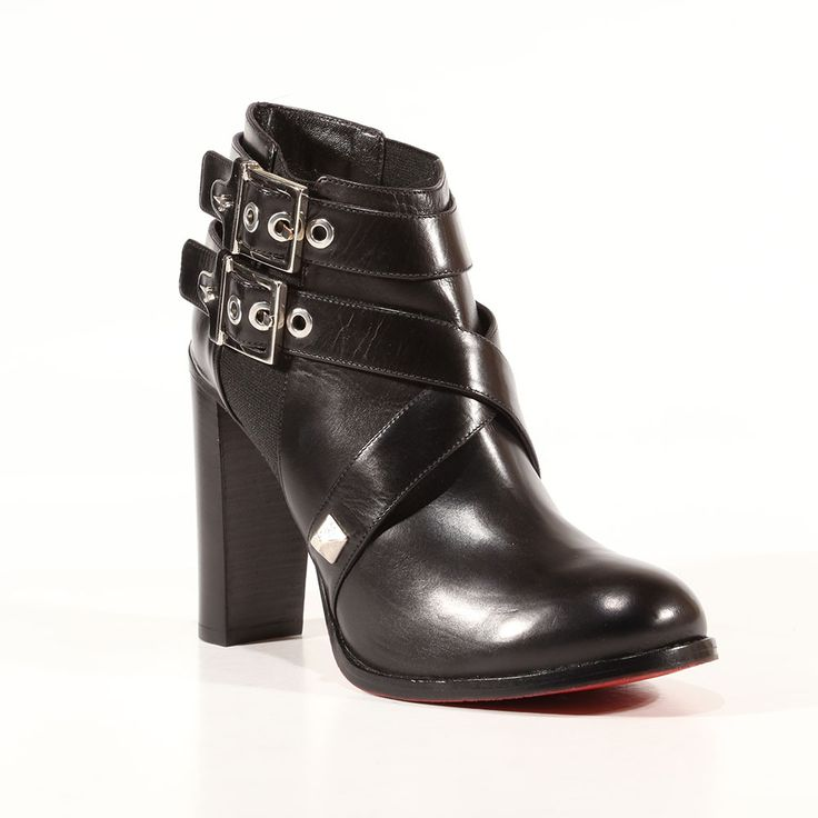 Cesare Paciotti Womens Shoes Baby Lux Black Leather Boots (CPW3022) Material: Leather Hardware: Silver Color: Black    Comes with original box and dustbag. Made in Italy. PI639210-BLACK