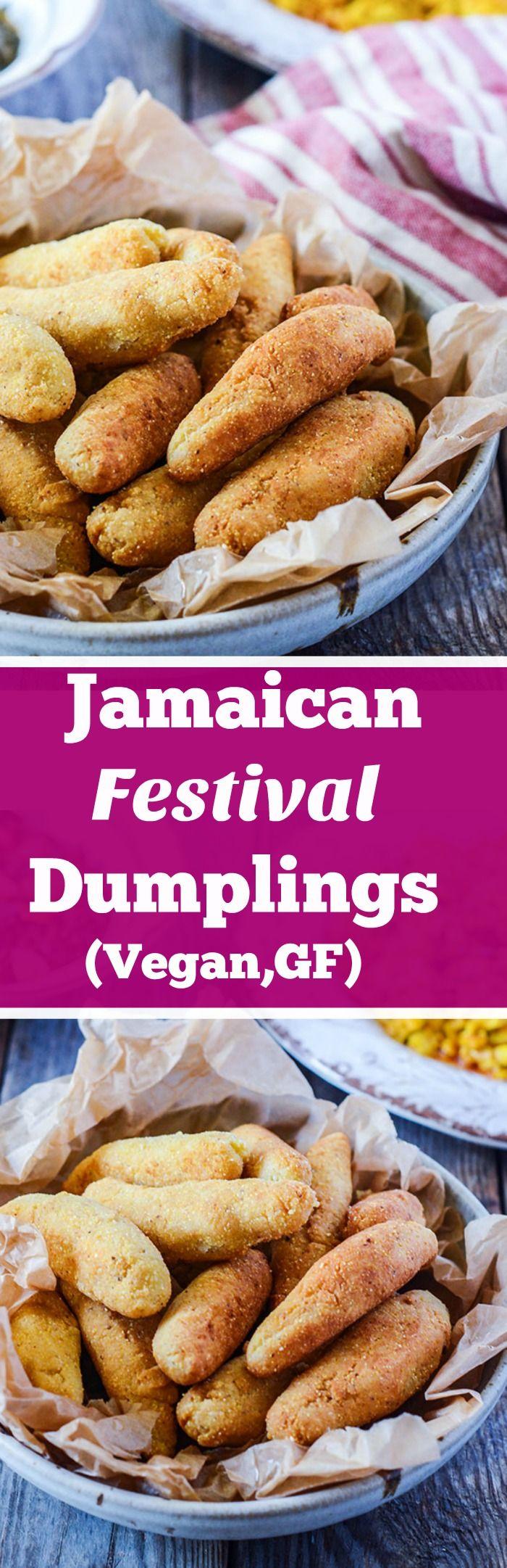 Jamaican Festival Dumplings Vegan, Gluten-Free