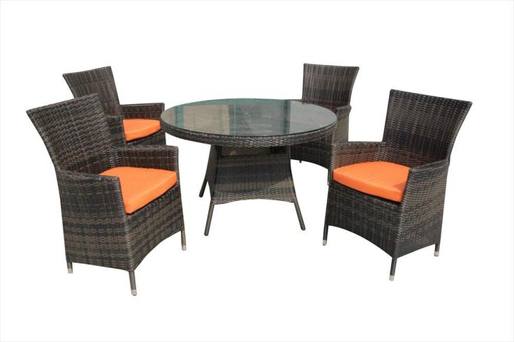 BuildDirect U2013 Dining Sets   Wicker Small (Ideal For 4 Seats) U2013 Dominica 5