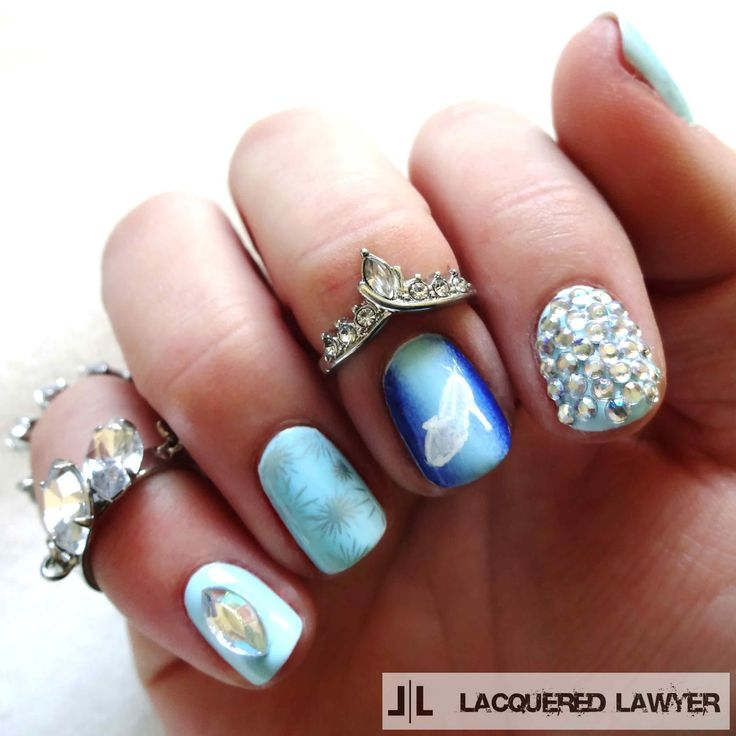 Lacquered Lawyer | Nail Art Blog: Stroke of Midnight | Cinderella Nail Art - 22 Best Cinderella Nails Images On Pinterest Cinderella Nails