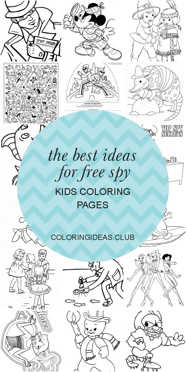 The Best Ideas for Free Spy Kids Coloring Pages in 2020 ...