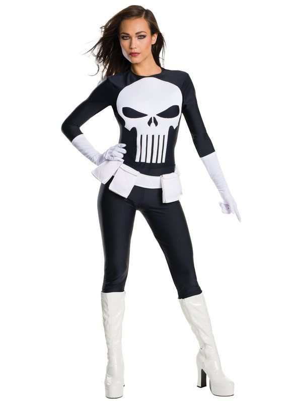 Check out Women's Sexy Marvel Sexy Punisher Costume for adults at discount…