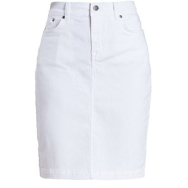 Best 25  White pencil skirts ideas only on Pinterest | White skirt ...