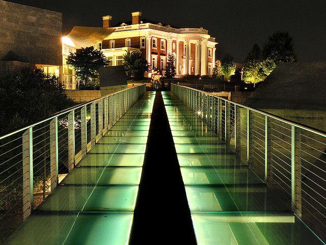 Hunter Museum Glass Bridge, Chattanooga, TN