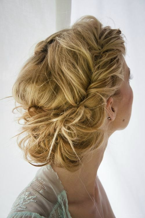 WEDDING HAIR would take flowers quite well.