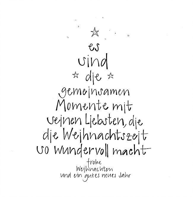 Weihnachtskarte - frohe Weihnachten und ein gutes neues Jahr - es sind die gemeinsamen Momente mit seinen Liebsten, die die Weihnachtszeit so wundervoll macht