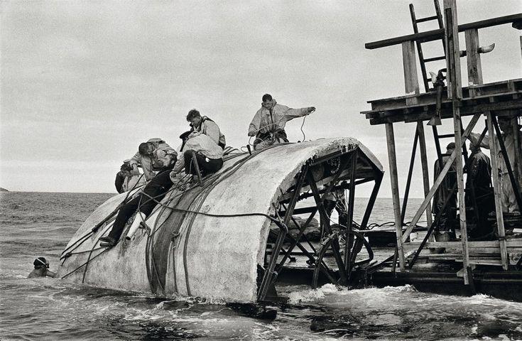 Erich Lessing / Magnum, 1954:Rodaje de Moby Dick de John Huston en las Islas Canarias