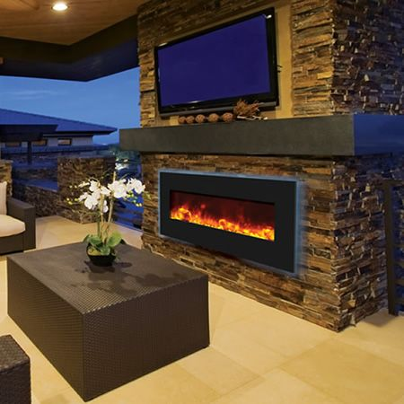 25 Best Outdoor Electric Fireplaces Images On Pinterest Electric Fireplaces Outdoor
