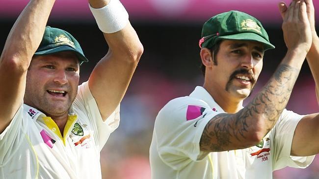 The australian strike attack bowlers