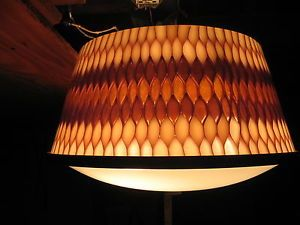 Mid-Century-Modern-Light-Fixture-Thomas-Industries-Acrylic-Honeycomb-Amazing