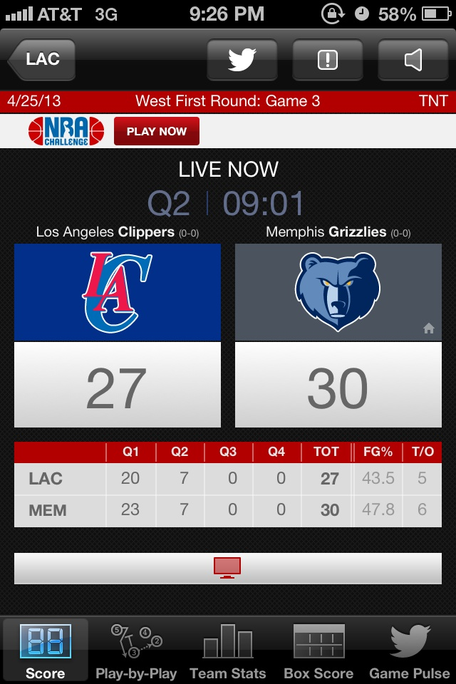 Lets go Clippers we can do this! LA Clippers vs. Memphis Grizzlies #Game3 #Represent! #ClipperNation