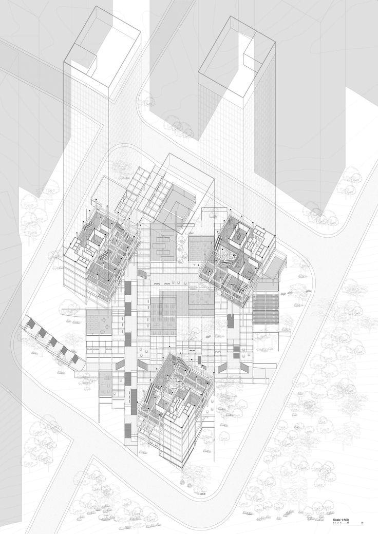 12 besten Planometric Drawing Bilder auf Pinterest | Architektur ...