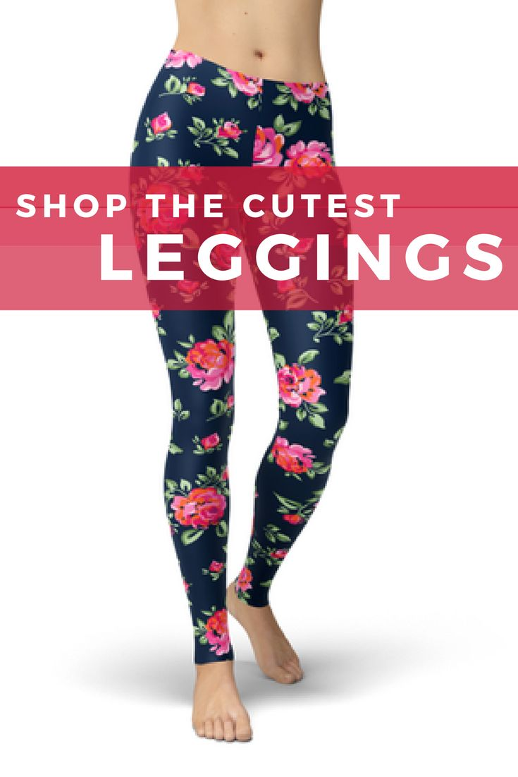 Loving these super comfortable leggings - printed leggings are so fun! Perfect for casual wear, the office OR the gym. #fashion #style #ootd #fashionblogger