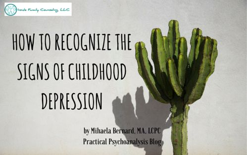 Similarly to how it manifests uniquely during adolescence versus adulthood, depression looks differently in early childhood as well. It is important to recognize the signs of childhood depression and to distinguish them from normal developmental milestones...