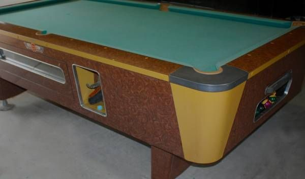 Mid-Century pool table...very cool. | Game Room ...