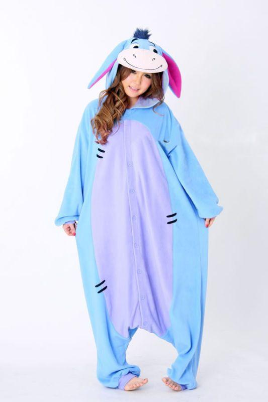Unisex Pijama Kigurumi Para Adultos Anime Cosplay Pijamas Disfraz Animal Onesies S ~ Xl