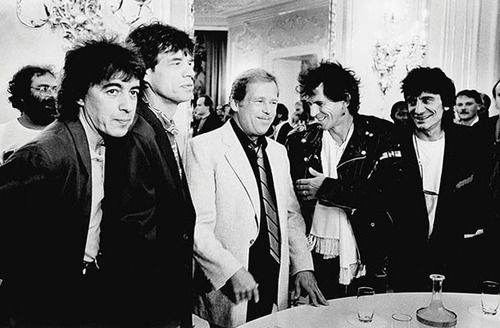 /// Vaclav Havel and The Rolling Stones