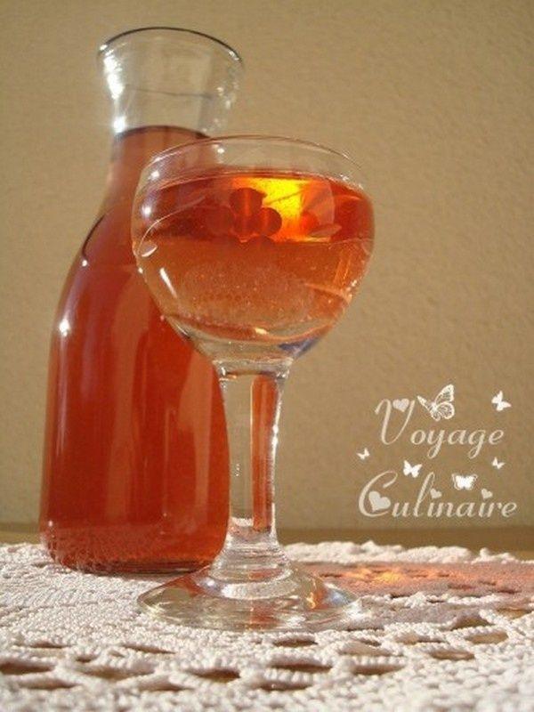 Vin de coings au Rosé
