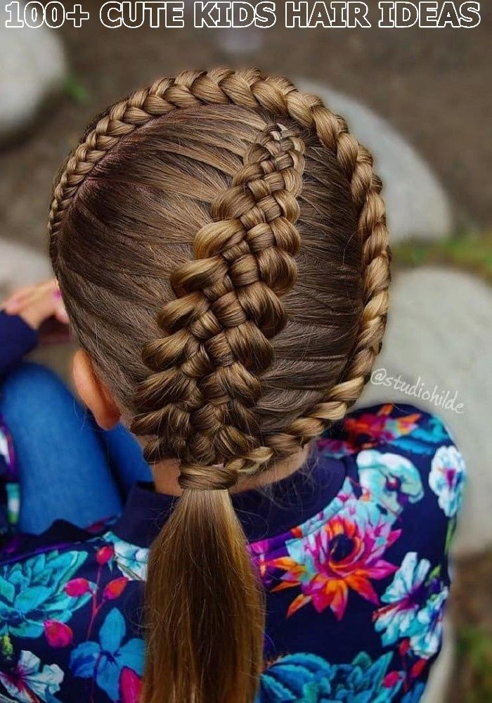 Lovely Kids Braided Hair Ideas For 2020 New Trendy Hair Ideas 2020