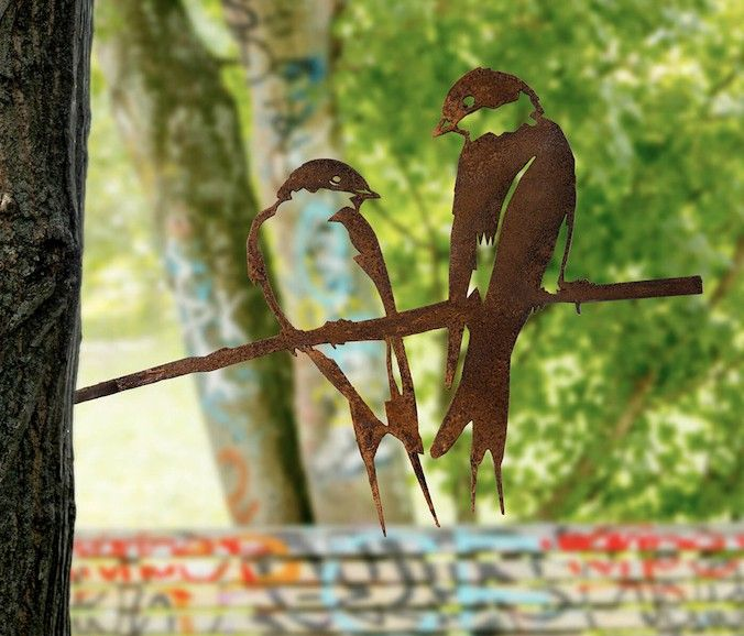 Metal Bird Swallow By Metalbird Metal Birds Birds Garden Deco