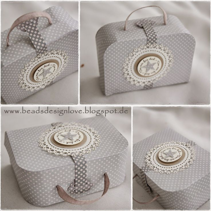 beadsdesign     ♥♥♥♥    love: Papierkoffer, Suitcase paper, Tilda, Stampin up