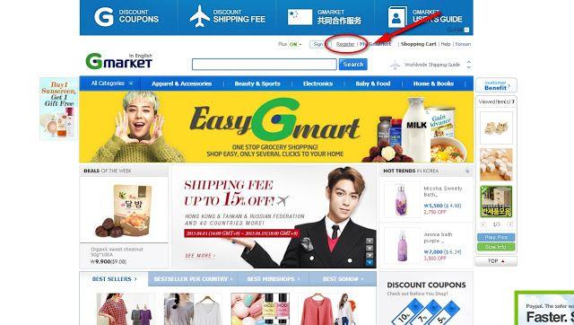 Как покупать на G-market (будем покупать корейские ткани). Мастер-класс.